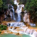 Водопад Луанг Прабанг Лаос