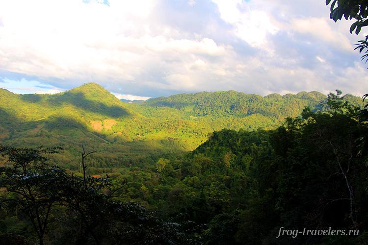 Горы в Луанг Прабанге