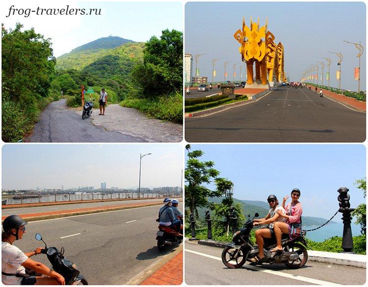 Аренда байка мопеда Дананг Вьетнам