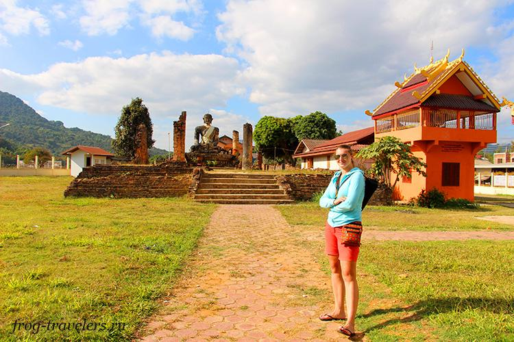 Руины Лаос
