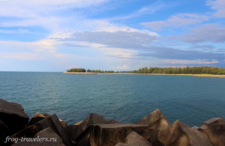 Море в Брунее