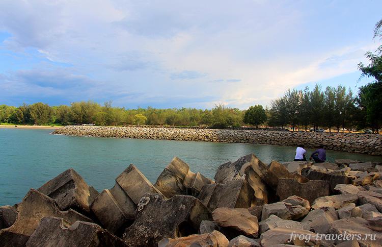 Пляж Тунгку Бруней