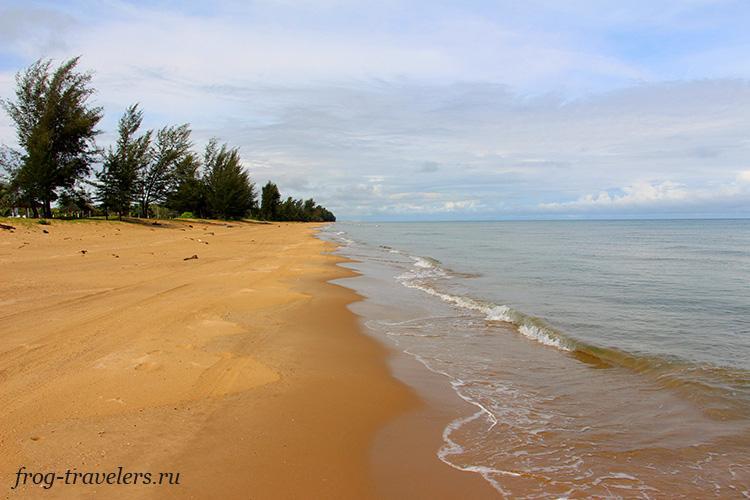 Пляжи Борнео