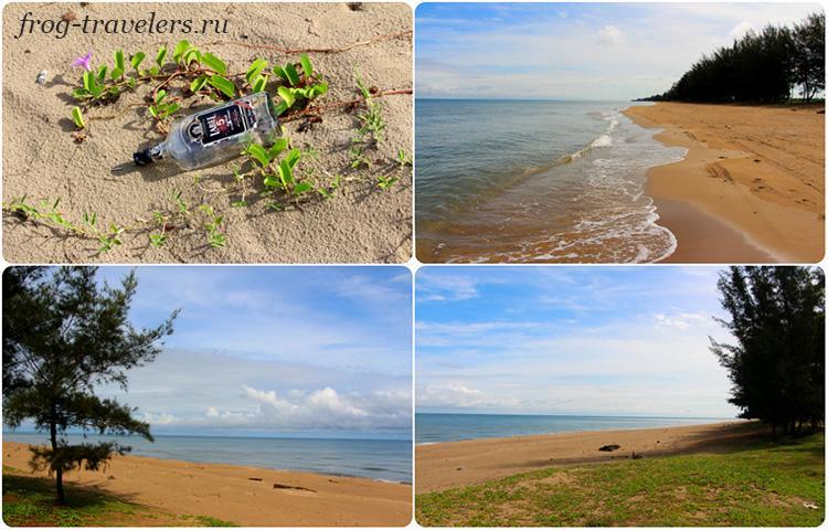 Пляж Pantai Seri Kenangan beach