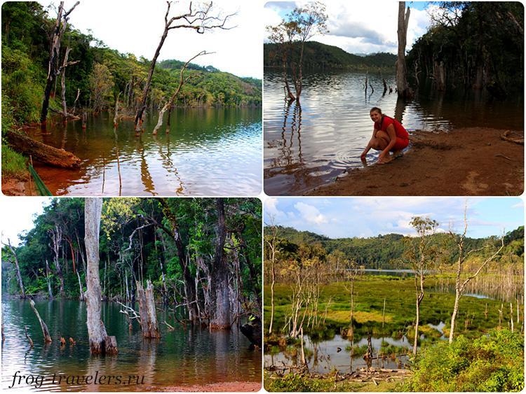 Озера Лаоса