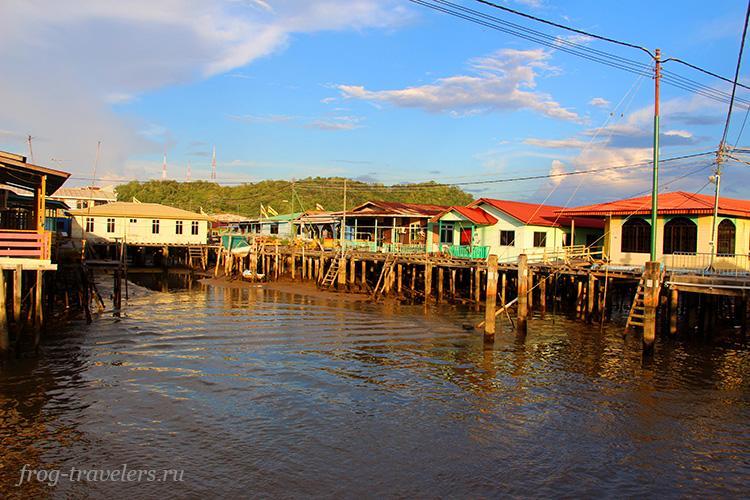 Деревня на воде Бруней