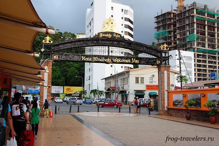 Паромный терминал Кота-Кинабалу Малайзия
