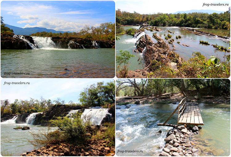 Достопричательности плато Болавен Лаос