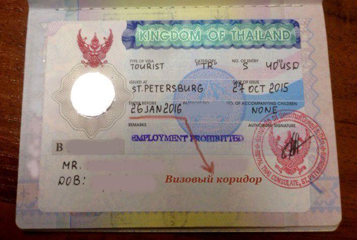 Виза в Таиланд: как получить