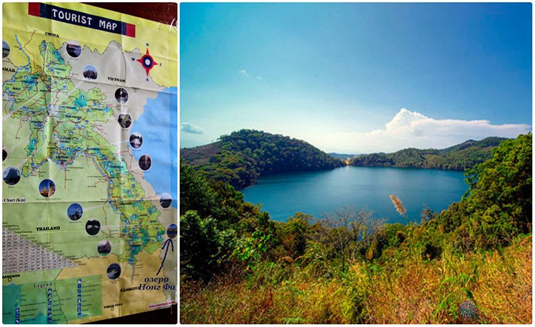 Озеро Нонг Фа Лаос