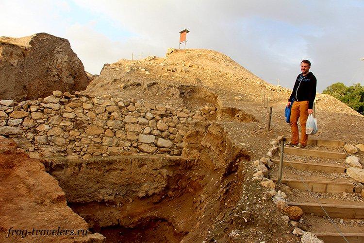 Константин Саморосенко в самом древнем городе в мире