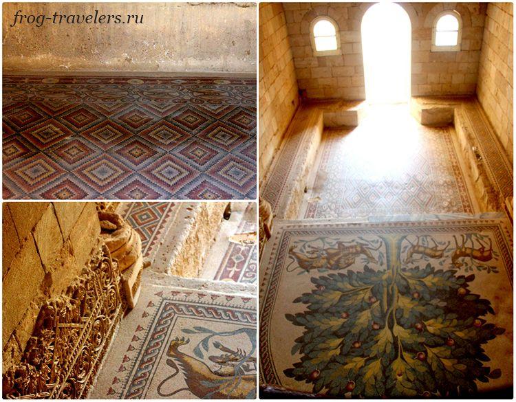 Древняя мозаика Иерихон