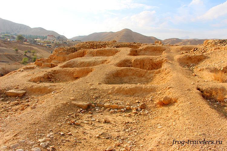 Раскопки дворцов Ирода