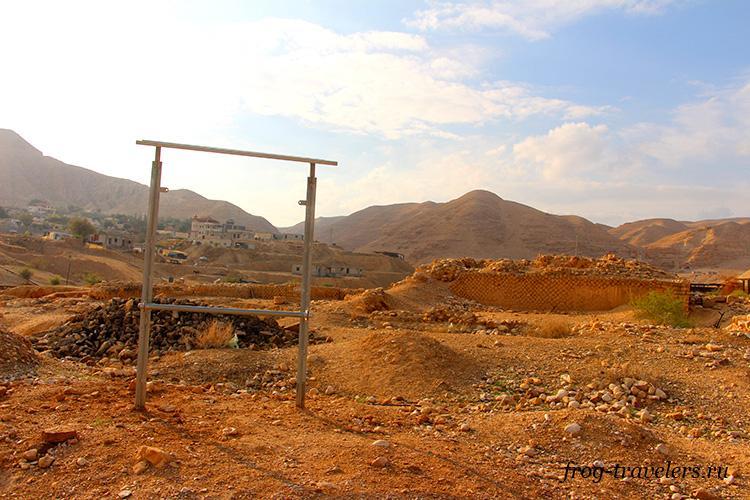 Раскопки зимнего дворца Ирода