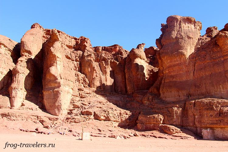 Проход на смотровую к Египетской горе