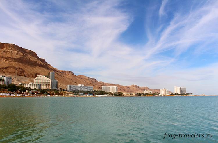 Курорты Израиля на Мертвом море