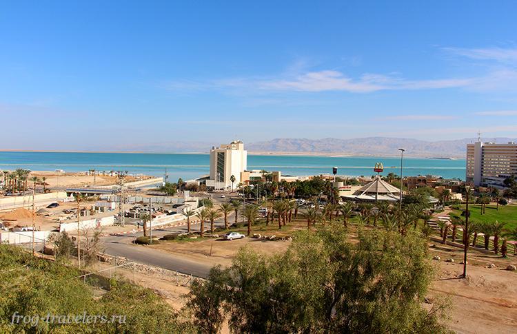 Курорт Эйн-Бокек на Мертвом море