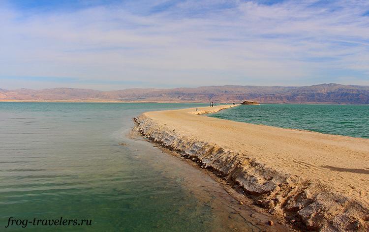 Мертвое море соленое