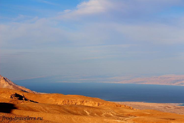 Мертвое море - соленое озеро