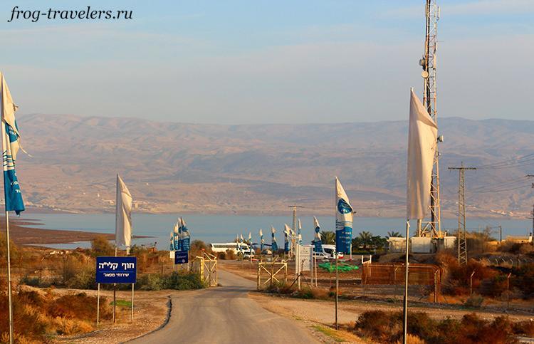 Как добраться на Мертвое море
