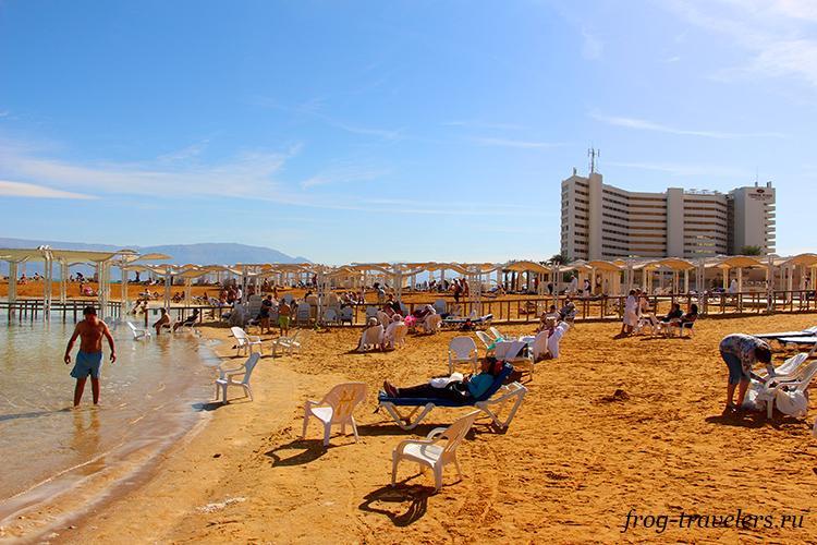 Пляжи Эйн-Бокек Израиль