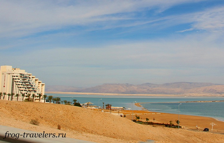 Пляжи Хамей Зоар Мертвое море
