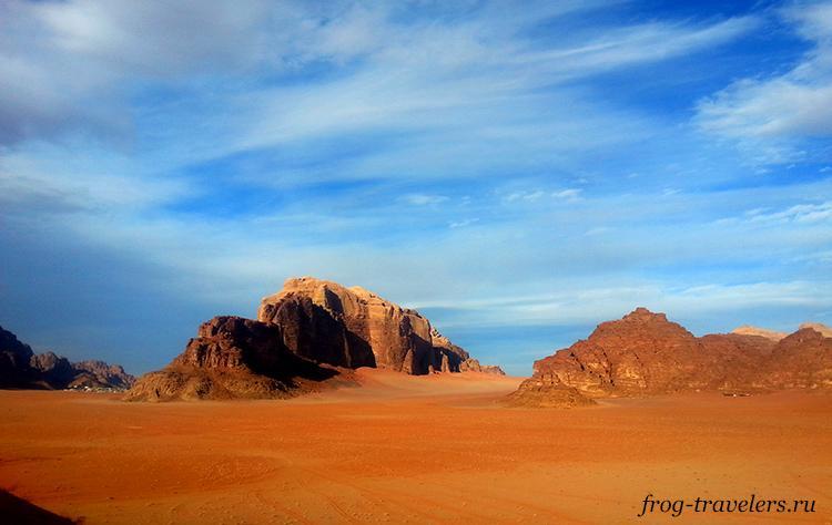 Пустыня Wadi Rum