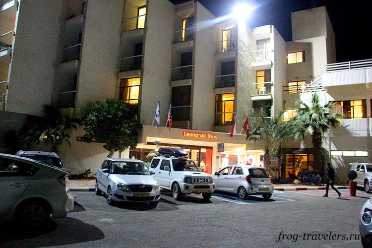 Гостиница Leonardo Inn Израиль