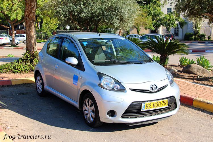 Взять машину напрокат в Израиле