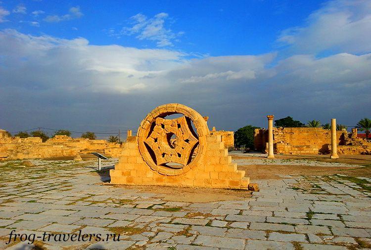 Дворец Хишама в Иерихоне