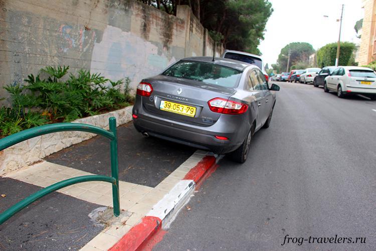 Парковки в Израиле