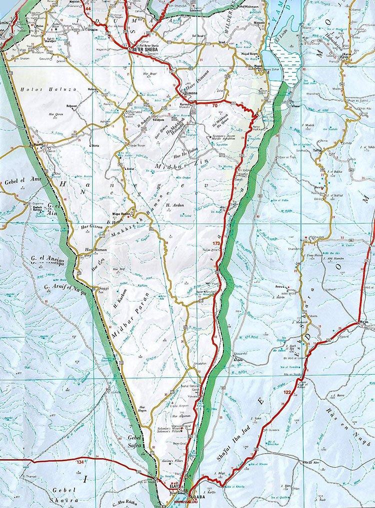 navitel карта израиля на русском