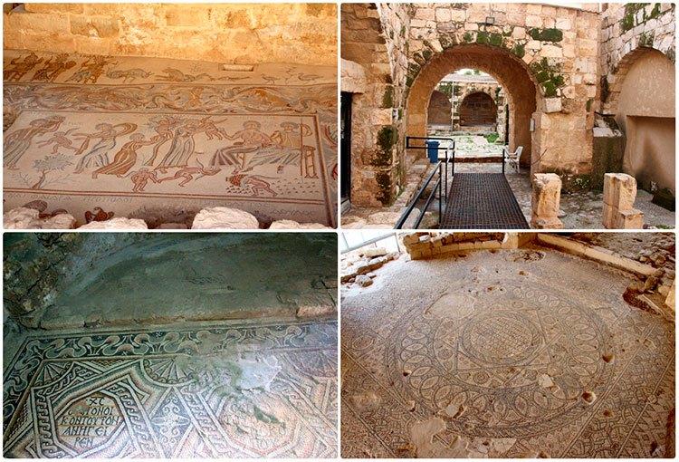Археологический парк в Мадабе