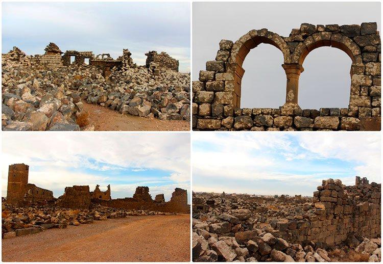 Руины города Ум-Аль-Джемаль