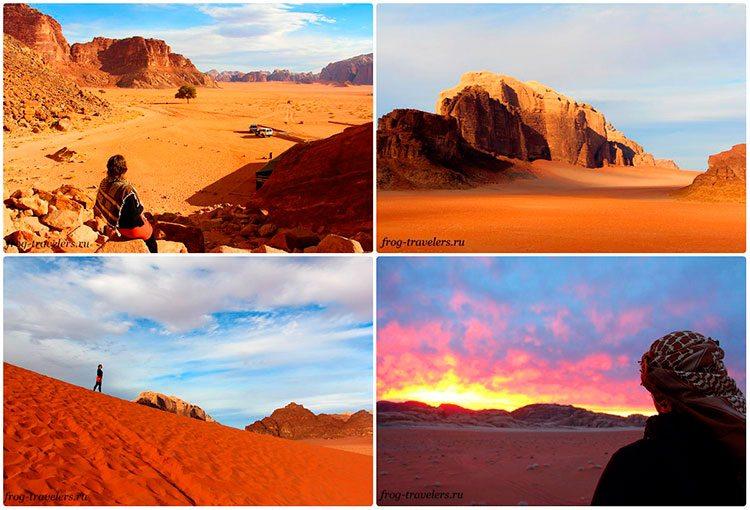 Достопримечательности пустыни Иордании