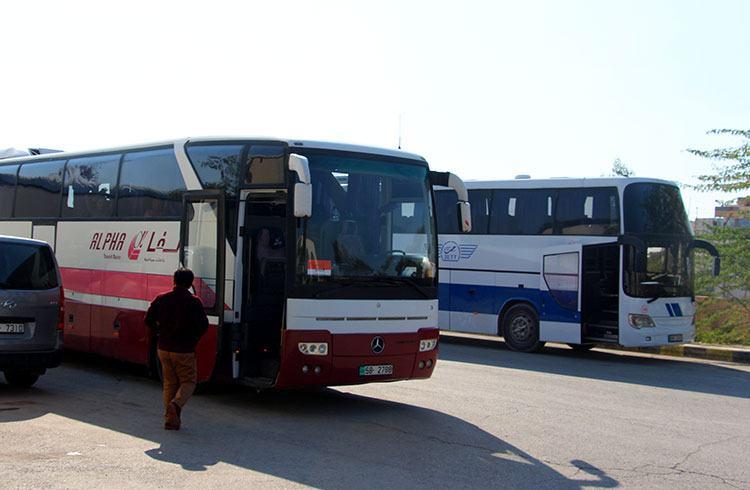 Цены на транспорт в Иордании