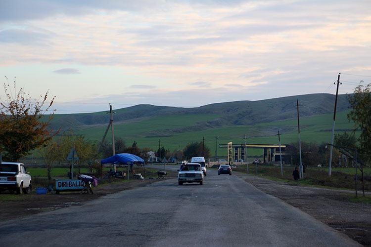 Дорога М5, Азербайджан