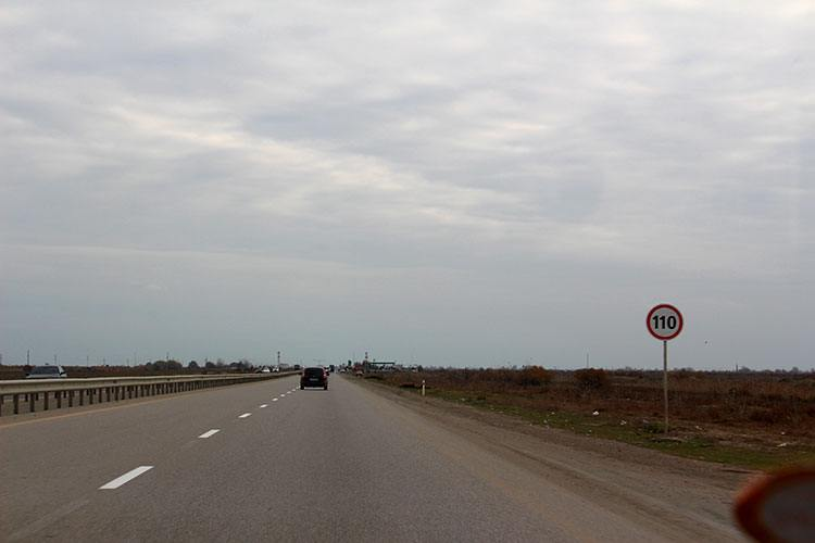 Трасса Е60 Гянджа – Алят
