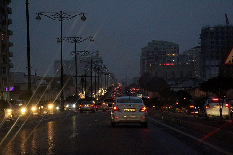 Пробки в Баку