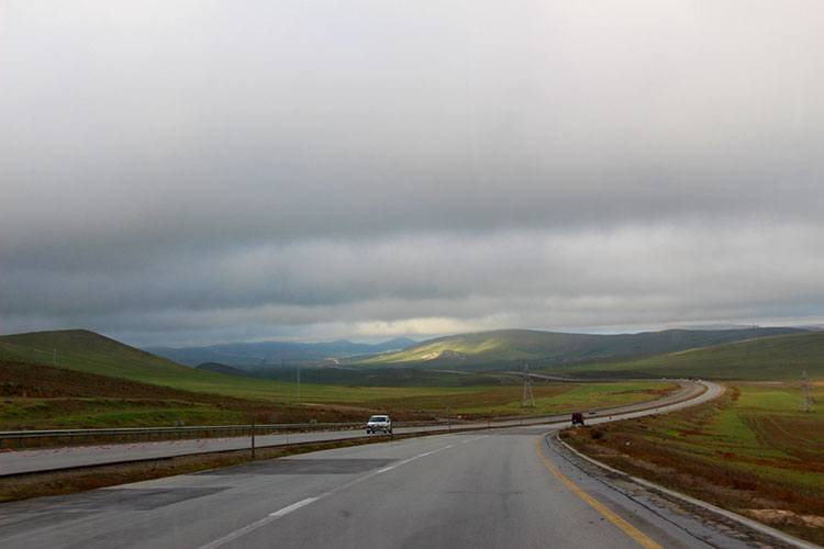 Дороги в Азербайджане