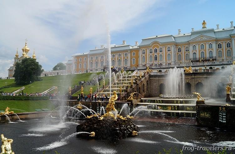 Как добраться до Петергофа из Санкт-Петербурга