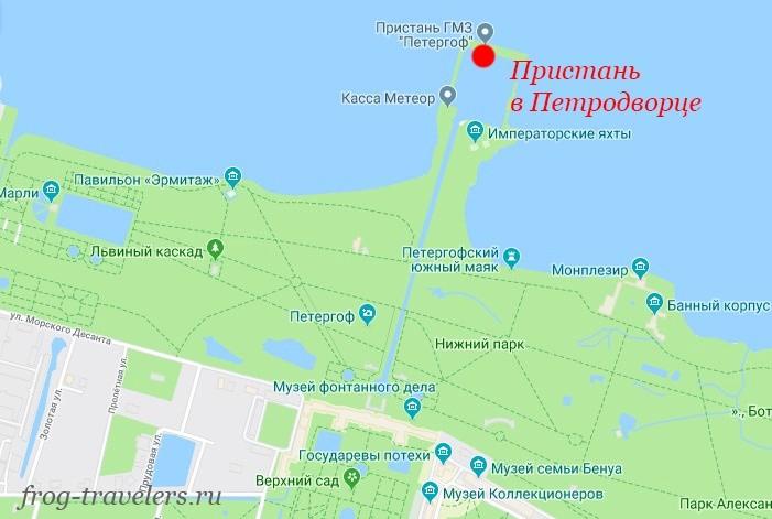 Как добраться в Петродворец из Санкт-Петербурга