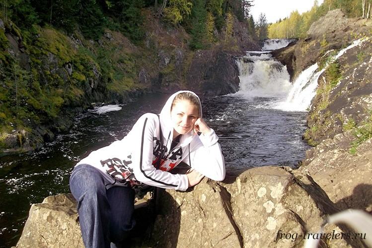 Водопад Кивач: фото