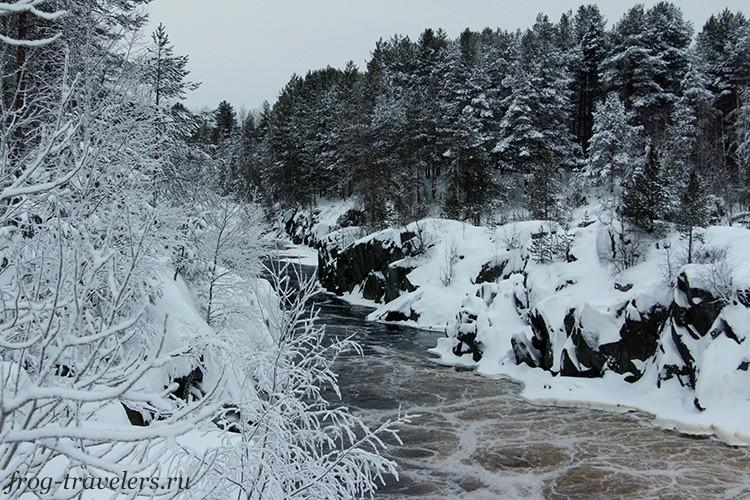 Водопад Воицкий падун в Карелии: фото, карта и описание