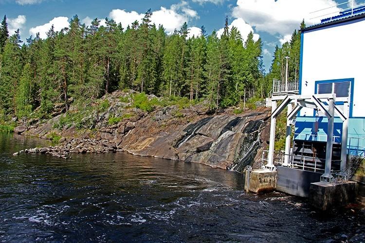 Водопад Рюмякоски, Сортавала