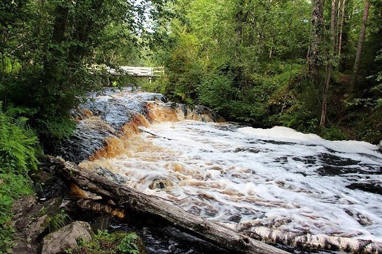 Водопады Белые Мосты, Карелия