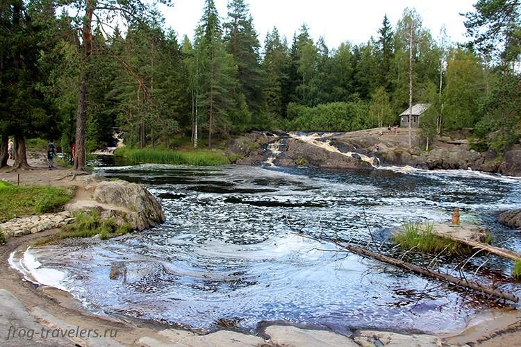 Водопады Ахвенкоски, Карелия