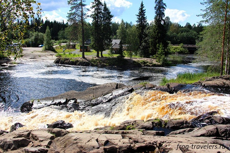 Рускеальские водопады Ахвенкоски