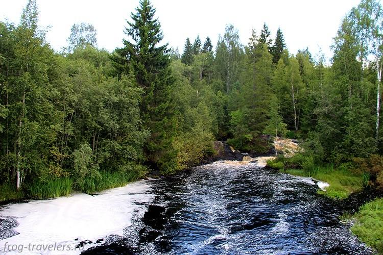 Водопады Тохмайоки, Карелия