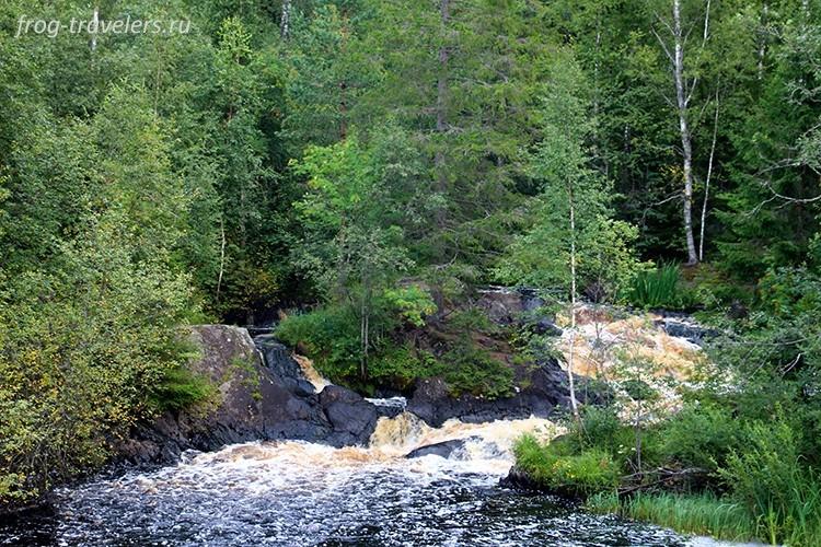 Водопад Тохмайоки, Карелия